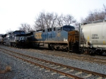 CSX 563 and NS 9170